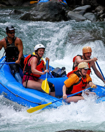 Pacuare River White Water Rafting Tour