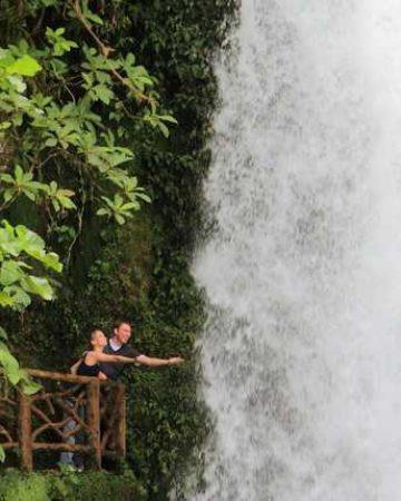 Poas Volcano La Paz Waterfalls  Coffee Plantation  Hummingbird and Butterfly Farm