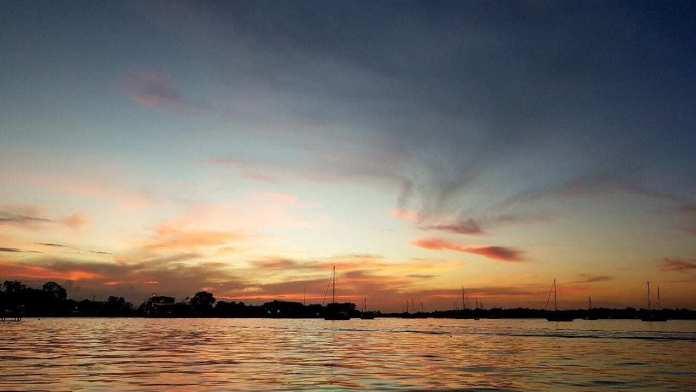bocas del toro sunset view
