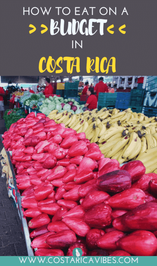 One of the most expensive things about traveling in Costa Rica will be food. To help you out, we created this guide on how to eat on a budget in Costa Rica.