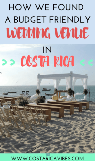Finding your dream wedding venue in Costa Rica will likely require a lot of work (but fun work)! We have done the whole planning process for our Costa Rica destination wedding and can walk you through it. #costarica #destinationwedding