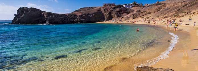 Papagayo Playa, Lanzarote