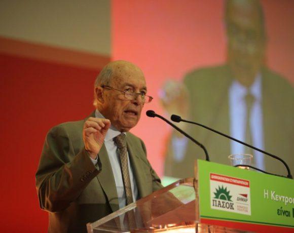 Χαιρετισμός Κώστα Σημίτη στην Πανελλαδική Συνδιάσκεψη της Δημοκρατικής Συμπαράταξης
