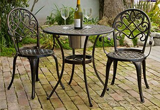 balcony bistro sets