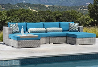 patio furniture collections seating sets