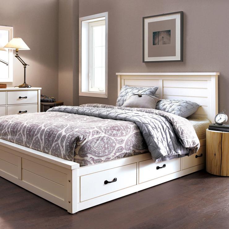 디자인벤처스 베일리 서랍 침대 프레임 퀸 Costco 코리아