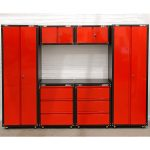 Sealey American Pro 24 Gauge Steel 6 Piece Modular Cabinet Set Costco Uk