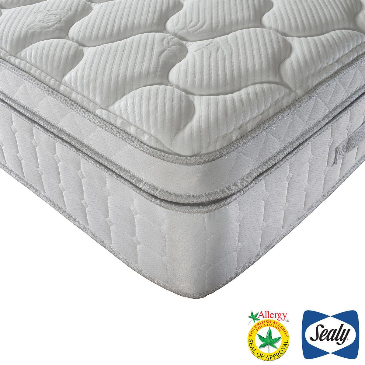 sealy prestige 1400 pocket latex mattress super king costco uk