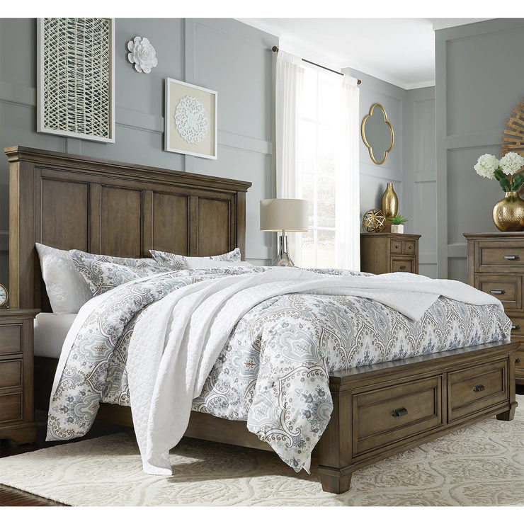 Universal Furniture Bret Super King Storage Bed Frame
