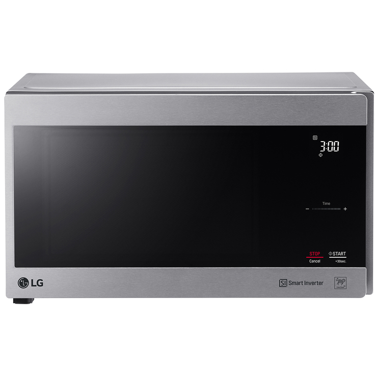 lg neochef 42l black stainless steel microwave ms4296obss