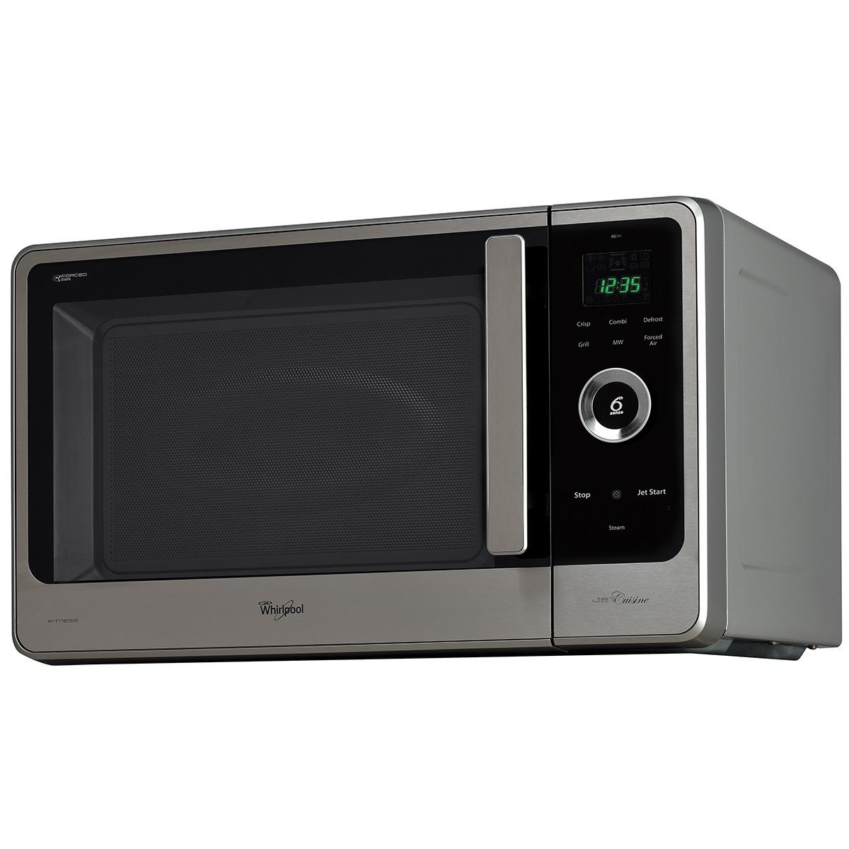 whirlpool 29l crisp n grill microwave jq280ix