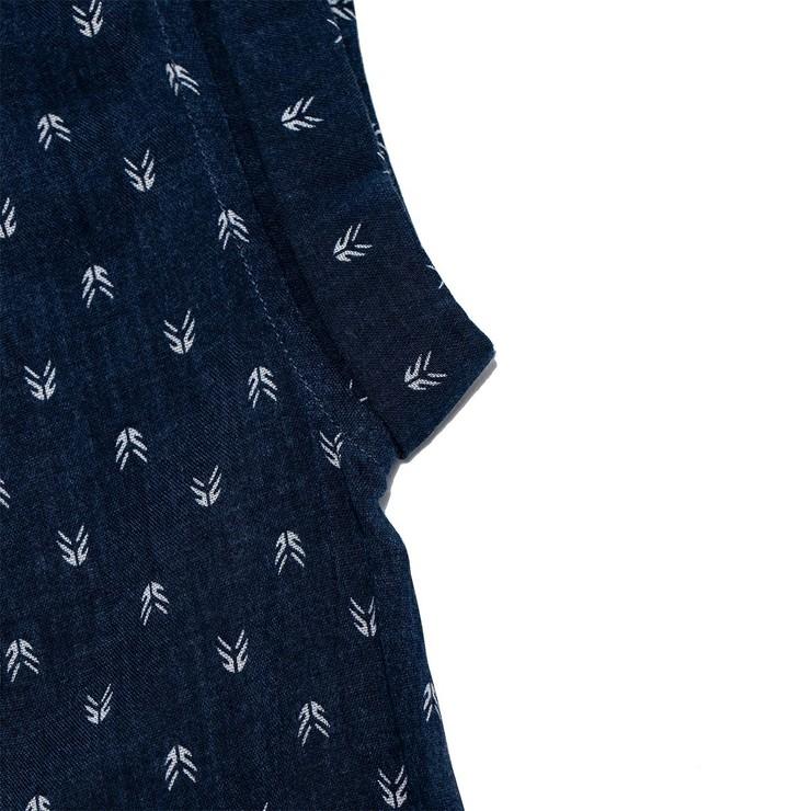 Jachs Girlfriend 女短袖襯衫 深藍印花 XS   Costco 好市多線上購物