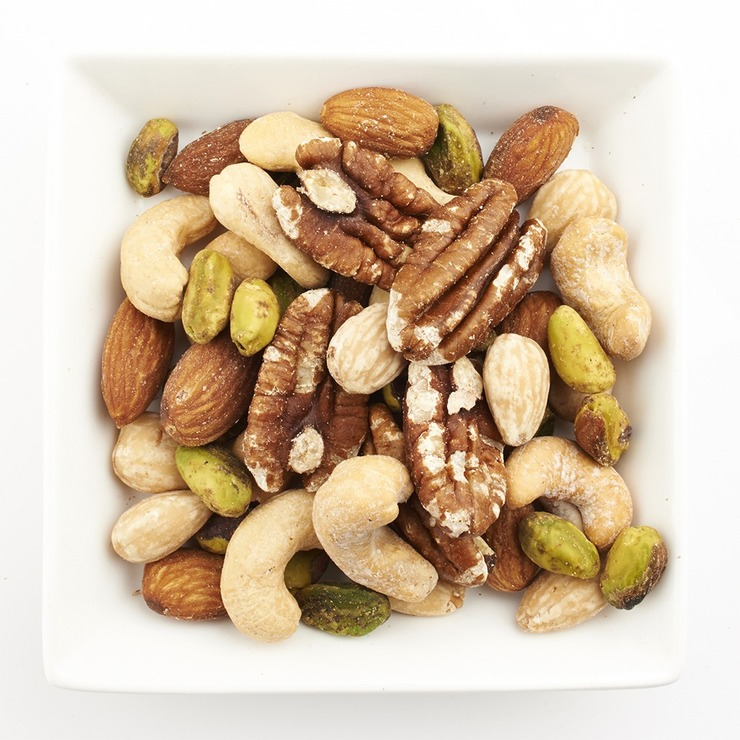 Unsalted Mixed Nuts
