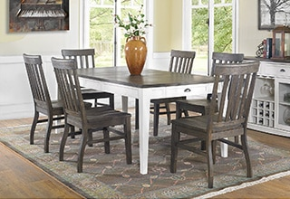 whalen xenia 7 piece dining set collections