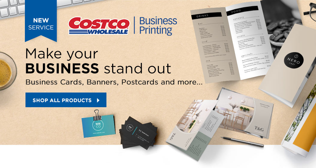 Costco Printing Services Business Cards Choice Image - Card Design ...