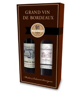 Grand Vin de Boureaux 2 x 750ml Gift Set