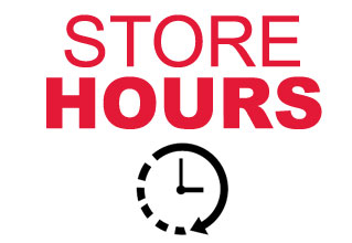 Click to visit our Store Hours page
