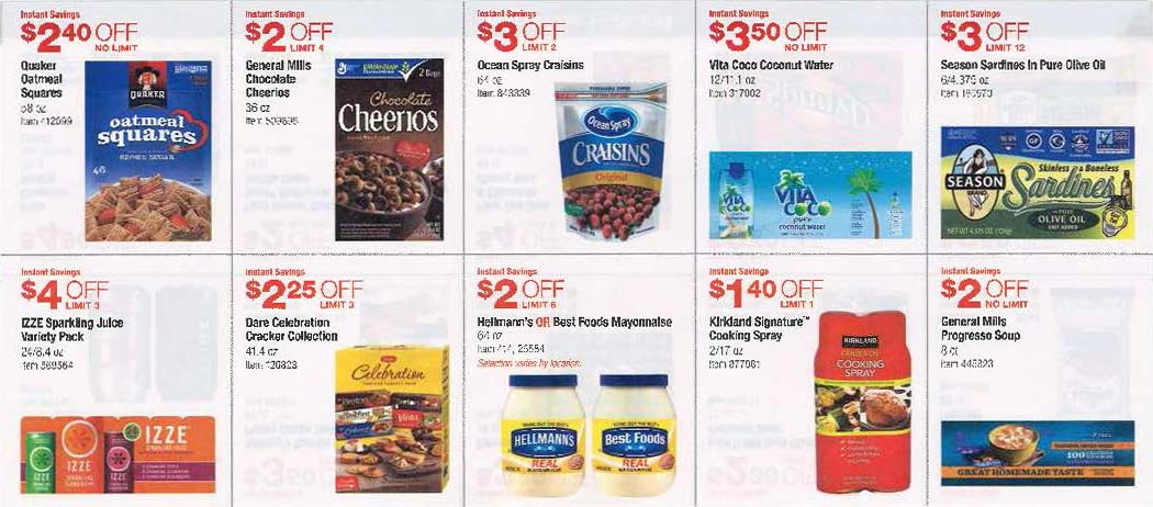 Costco coupons october 2019