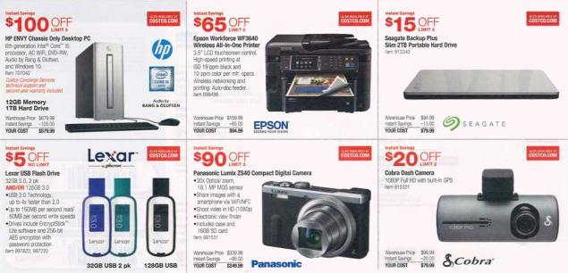 November 2015 Costco Coupon Book Page 2
