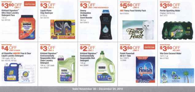December 2015 Costco Coupon Book Page 7