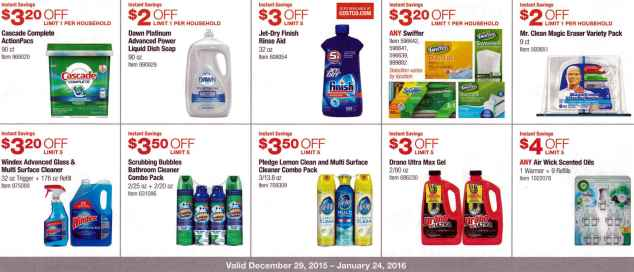 January 2016 Costco Coupon Book Page 13