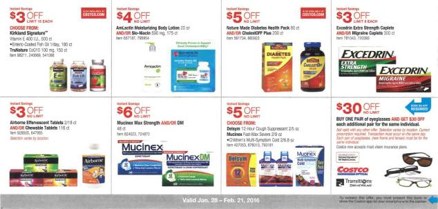 February 2016 Costco Coupon Book Page 12