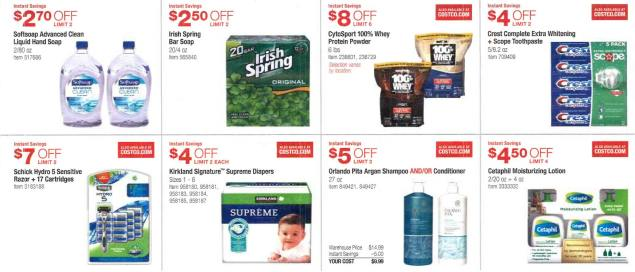 March 2016 Costco Coupon Book Page 4