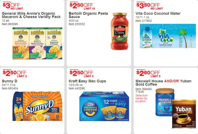 April 2016 Costco Coupon Book Page 12