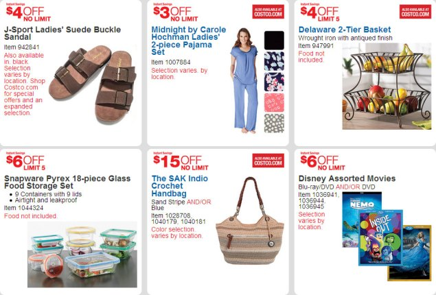 April 2016 Costco Coupon Book Page 9