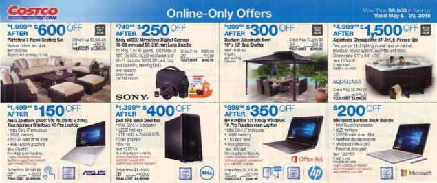 May 2016 Costco Coupon Book Page 16