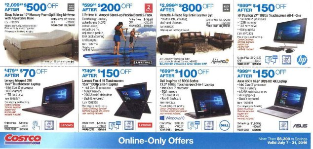 July 2016 Costco Coupon Book Page 13
