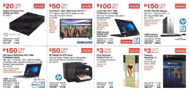 July 2016 Costco Coupon Book Page 2