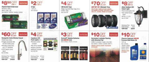 September 2016 Costco Coupon Book Page 5