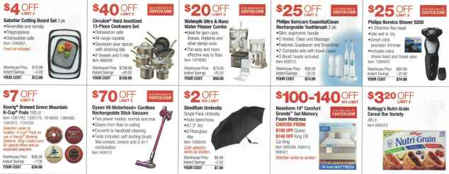 September 2016 Costco Coupon Book Page 6