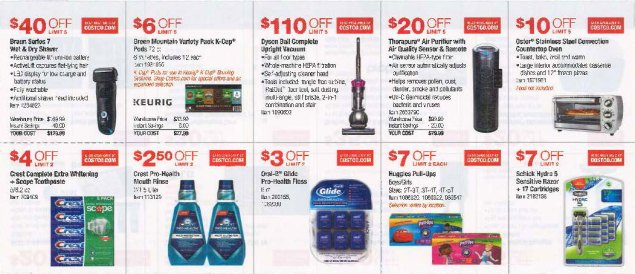 October 2016 Costco Coupon Book Page 4