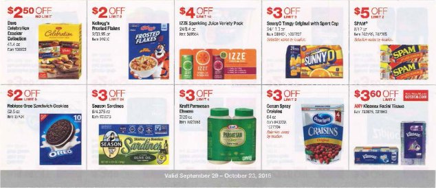 October 2016 Costco Coupon Book Page 9