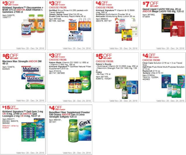 Costco Coupons December 2016 Page 6