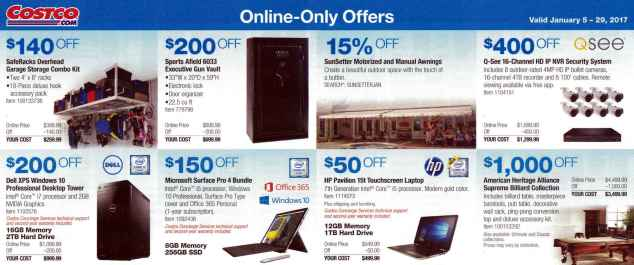 January 2017 Costco Coupon Book Page 12