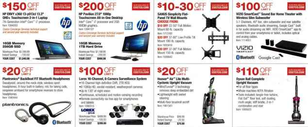 January 2017 Costco Coupon Book Page 2