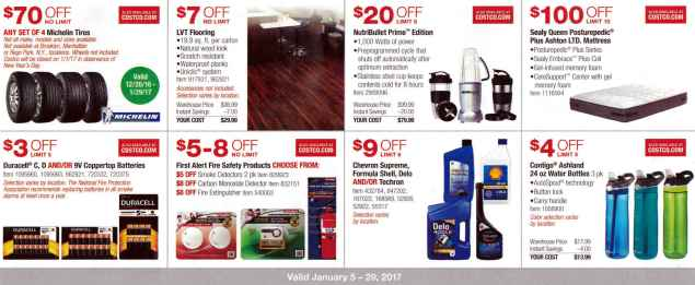 January 2017 Costco Coupon Book Page 3