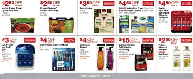 January 2017 Costco Coupon Book Page 9