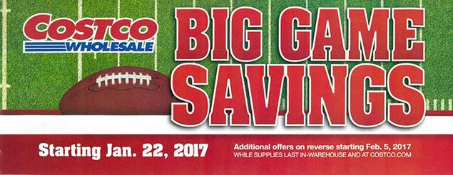 Big Game Savings Ad Cover