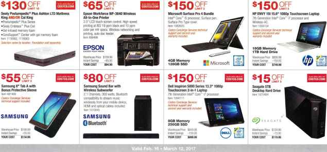 February 2017 Costco Coupon Book Page 3