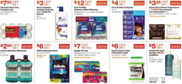 February 2017 Costco Coupon Book Page 4