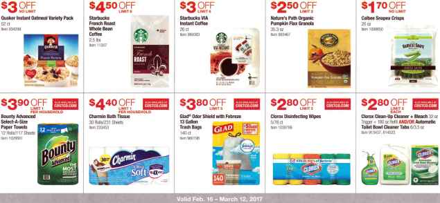 Costco February  Coupon Book  Costco Insider