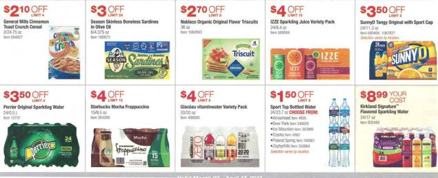 Costco March and April 2017 Coupon Book Page 9