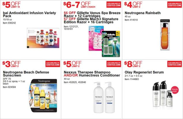 June 2017 Costco Coupon Book Page 18