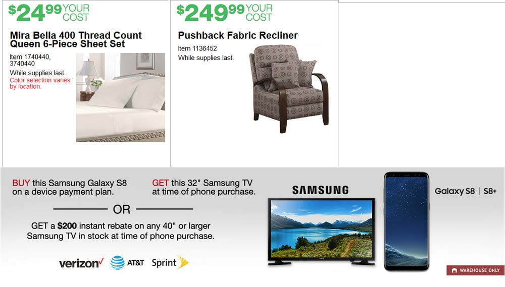 Ideal June Costco Coupon Book Page