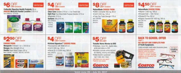 Costco July 2017 Coupon Book Page 15