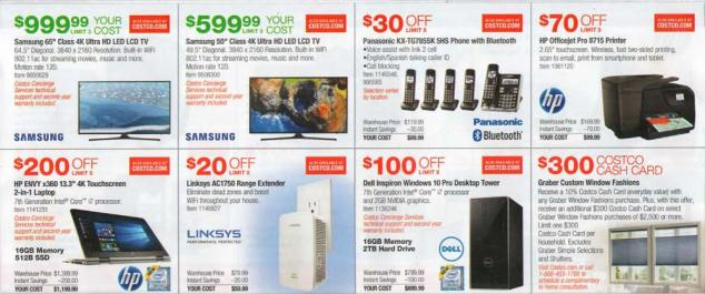 Costco July 2017 Coupon Book Page 5